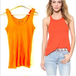 Free People Ribbed Scoop Neck Cotton Tank Top